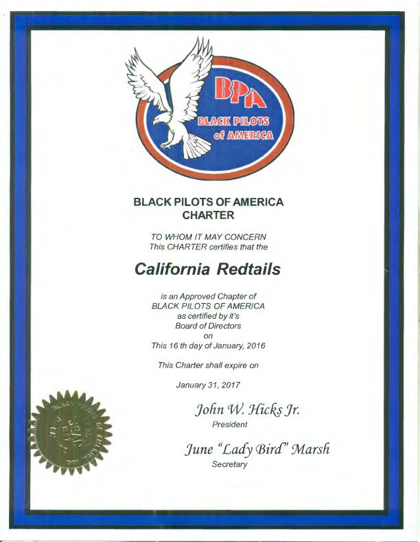 About Us - The California Redtails